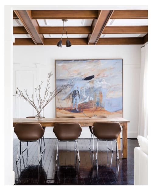 Paintings by George Raftopoulos at Private Residence, Bellevue Hill - Bellevue Hill Painting