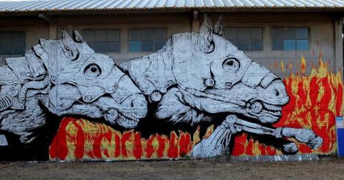 Ericailcane - Street Murals and Public Art