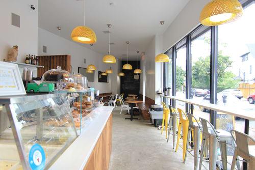 LARK, Cafès, Interior Design