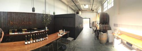 Broc Cellars, Restaurants, Interior Design