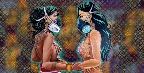 Cece Carpio - Murals and Street Murals