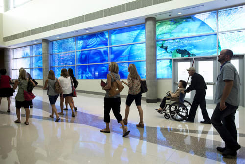Art & Wall Decor by Martin Donlin seen at Dallas Love Field Airport, The New Terminal 2, Dallas - Blueprint of Flight