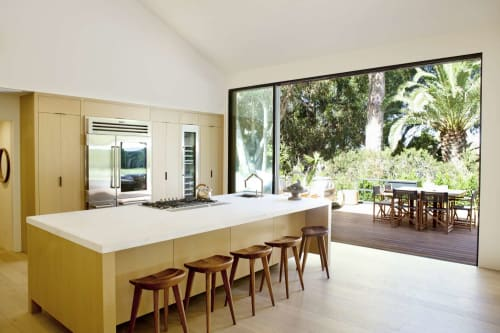 Interior Design by Saffron Case Homes seen at Serra Retreat, Malibu - Interior Design