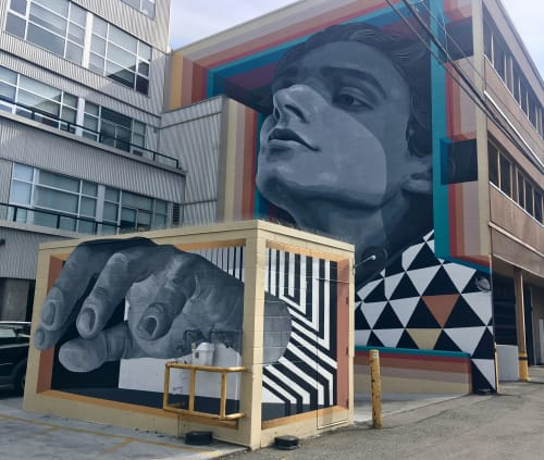 Street Murals by Medianeras > murales seen at Vancouver, Vancouver - Mural