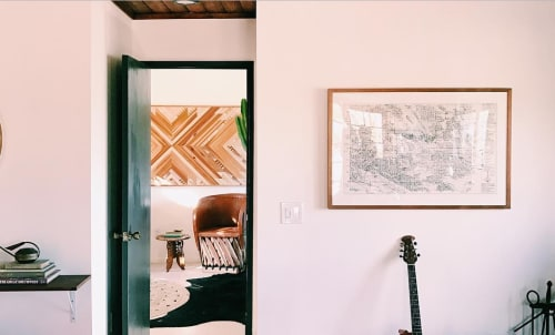 Wall Hangings by Framebridge at The Joshua Tree Casita, Joshua Tree - Framing