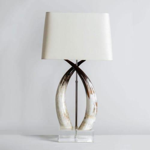 Lamps by Ankole seen at Private Residence, San Antonio, Texas, San Antonio - Hisani Lamp
