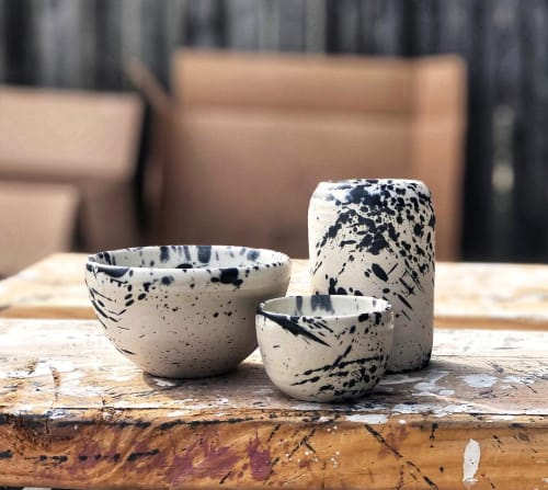 Cups by Sloane Angell seen at RTH Shop, West Hollywood - Porcelain Set