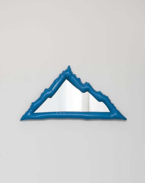Sculptures by Misha Kahn seen at Figma, San Francisco - Saturday Morning Starburst Mirror