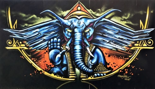 Griffin One - Murals and Art