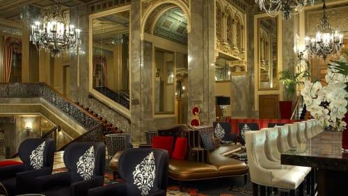Sir Francis Drake, Hotels, Interior Design