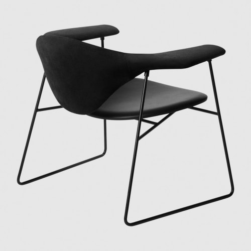 Chairs by GamFratesi of Hem at The William Vale, Brooklyn - Masculo Lounge Chair