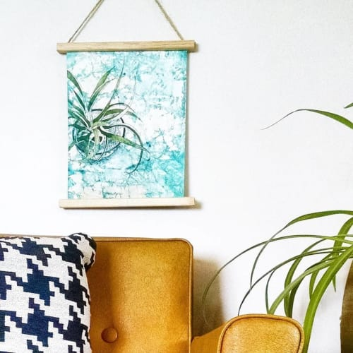 Paintings by Jessica Flores Design seen at Private Residence, Valparaiso - Watercolor Succulent