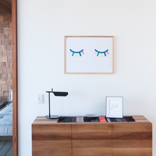 Paintings by Honey & Bloom at Private Residence, San Francisco - Blink
