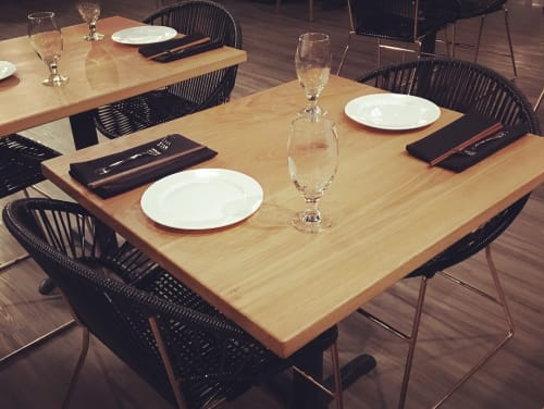 Chairs by Innit Designs at KOMODO (Modern Asian Cuisine), Rogers - Puerto Dining Chairs