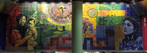 Francisco Letelier - Murals and Street Murals