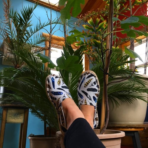 Apparel & Accessories by Amaya seen at Private Residence, Halifax - Espadrilles