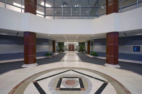LNR Warner Center, Public Service Centers, Interior Design