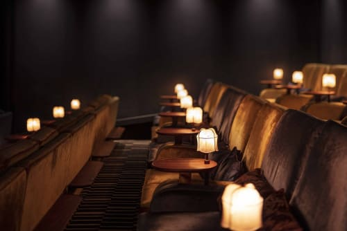 Interior Design by Run For The Hills seen at TIVOLI Cinemas - Bath, Bath - Tivoli Cinema Cafe Bar Project