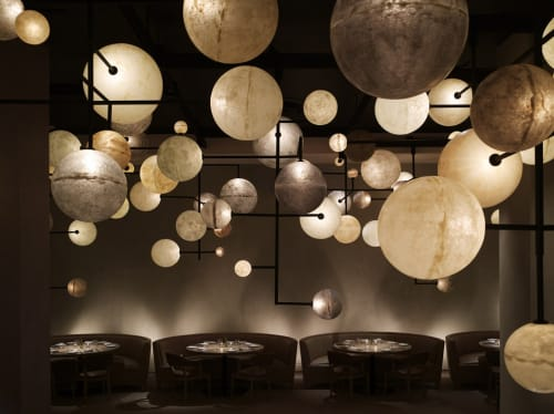 Pendants by Dimore Studio seen at Ambassador Chicago, Chicago - Lampada 061