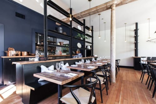 Octavia, Restaurants, Interior Design