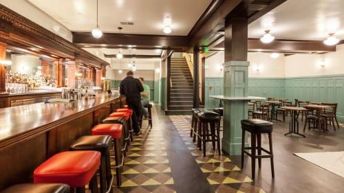 Cafe Du Nord, Bars, Interior Design