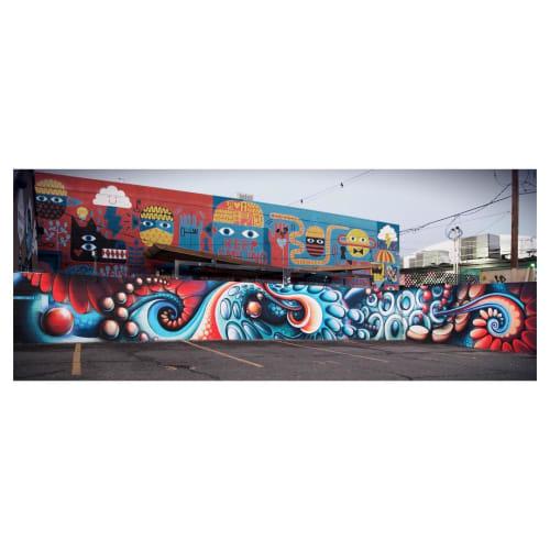 Street Murals by Anna Charney seen at The Denver Central Market, Denver - Mural