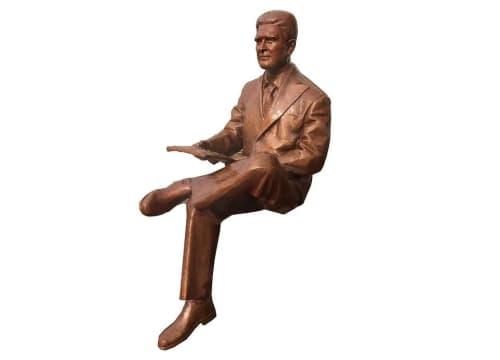 Public Sculptures by Christian Toth Art seen at Sackville, Sackville - Honourable George Stanley Sculpture