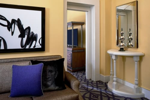 Paintings by Irena Orlov seen at Kimpton Hotel Monaco Washington DC, Washington - Dangerous Seduction