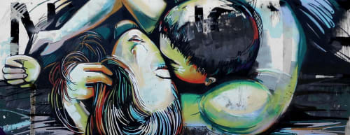 Alice Pasquini - Street Murals and Murals