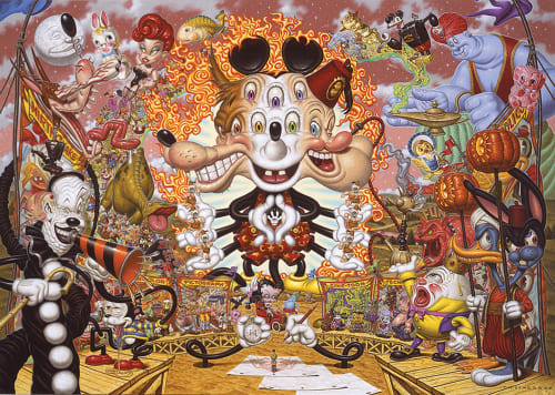 Todd Schorr - Paintings and Art