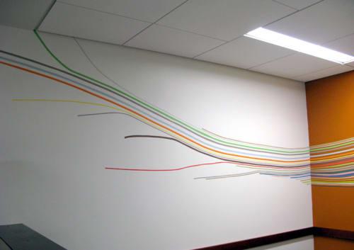 Murals by Leah Rosenberg at Moffitt Cafe - UCSF Medical Center, San Francisco - Gather
