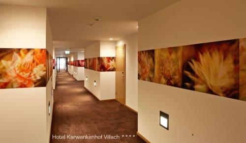 Photography by Rica Belna seen at Thermenhotel Karawankenhof, Villach - Rica Belna - Modern, Floral Hallways