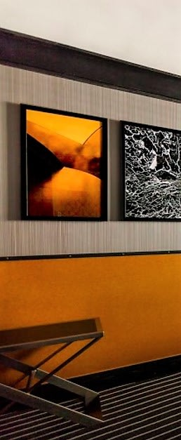 Photography by Llewellyn Berry seen at Gild Hall, New York - Calder with Rothko Influence