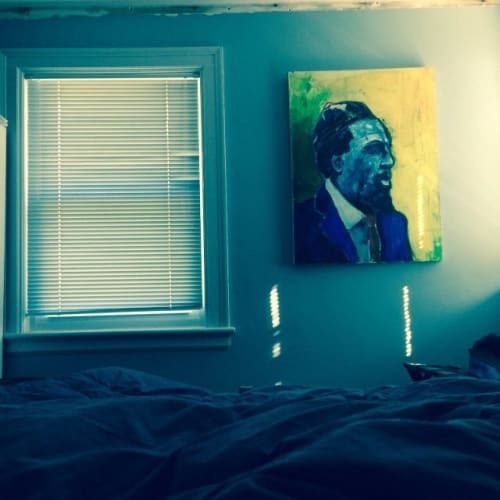 Paintings by Justin Terry seen at Private Residence, Nashville - Thelonious Monk