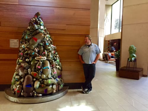 Sculptures by Jud Bergeron at Grand Hyatt San Francisco, San Francisco - My Pal Foot Foot