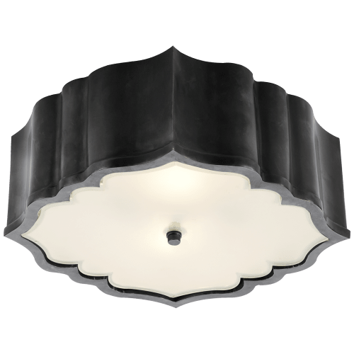 Lighting by Alexa Hampton seen at Casa Laguna, Laguna Beach - Balthazar Flush Mount Light Fixture