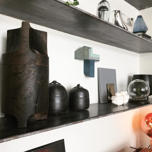 Furniture by Wyatt Speight Rhue seen at Private Residence, San Francisco - Oxidized Pear Canister