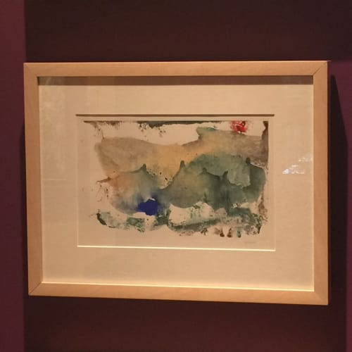 Paintings by Julie Shunick Brown seen at Private Residence, Highland Park - Watercolor Trio