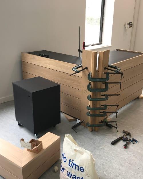 Furniture by King & Webbon at Usk, Usk - Reception Desk