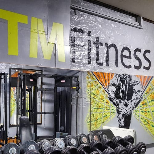 Murals by 7th Pencil seen at TM Fitness, Barnstaple - Mural