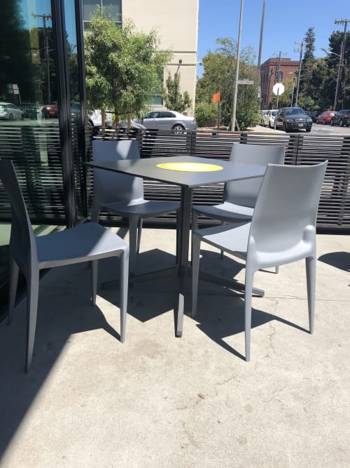 Chairs by Mario Bellini seen at Noon All Day, San Francisco - Bellini Chair