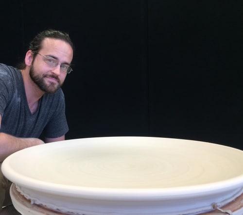 Ceramic Plates by Cm Ceramics seen at Provisions, Salt Lake City - Ceramic Plates