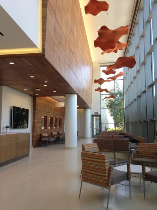 Interior Design by Pickett Design Associates seen at UCI Health H.H. Chao Comprehensive Digestive Disease Center (CDDC), Orange - Interior Design