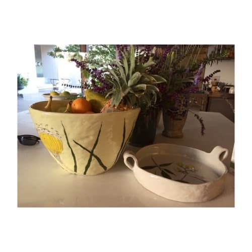 Tableware by Gemma Orkin Handmade Ceramics seen at Private Residence, Cape Town - Ceramic Tableware