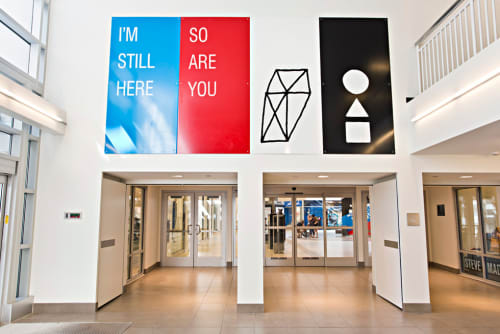 Art & Wall Decor by Cody Hudson seen at Fashion Outlets of Chicago, Rosemont - I'm Still Here (Contemplation Station)