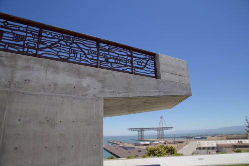 Sculptures by Eric Powell seen at Hunter's Point Shipyard, San Francisco - Flotilla