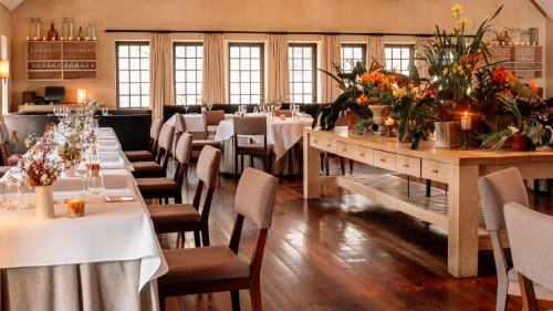 Blue Hill at Stone Barns, Restaurants, Interior Design