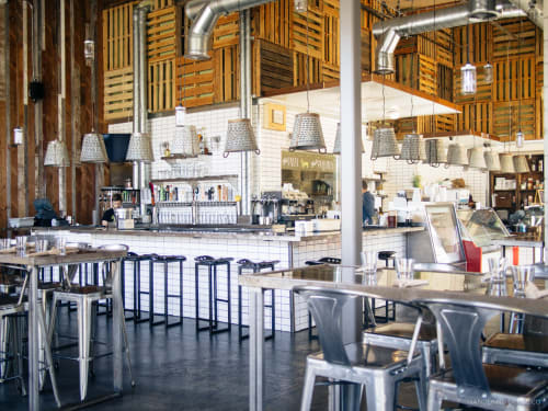 Sage Vegan Bistro - Culver City, Restaurants, Interior Design