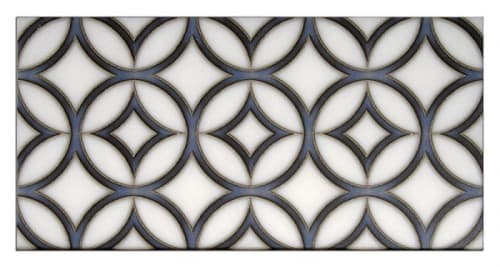 Tiles by StoneImpressions seen at Private Residence, Austin, TX, Austin - Hayden Duo Listello