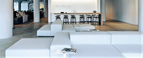 Chairs by Piero Lissoni at Wired Magazine, San Francisco - Extrasoft Modular Sofa
